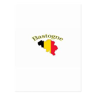 Bastogne, Belgium Postcard