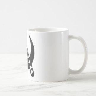 Bastón comunista taza