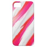 Bastón de caramelo - caso del iPhone 5/5s iPhone 5 Funda