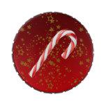 Bastón de caramelo del navidad frascos de caramelos