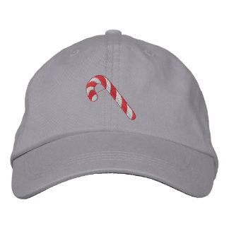 Bastón de caramelo gorra de béisbol