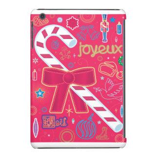 Bastón de caramelo icónico fundas de iPad mini