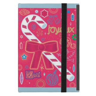 Bastón de caramelo icónico iPad mini funda