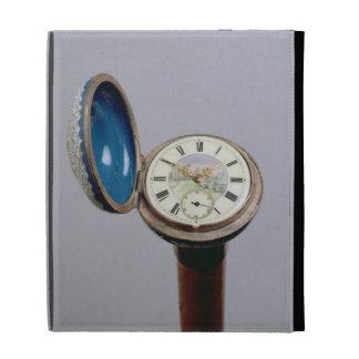 Bastón del artilugio del reloj (esmalte del cloiso