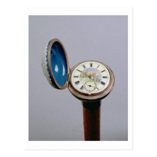 Bastón del artilugio del reloj (esmalte del postales