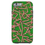 Bastones de caramelo caprichosos en el iPhone