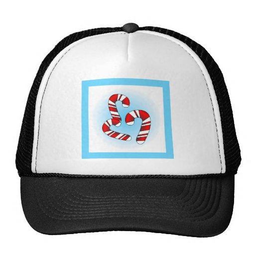 Bastones de caramelo gorra