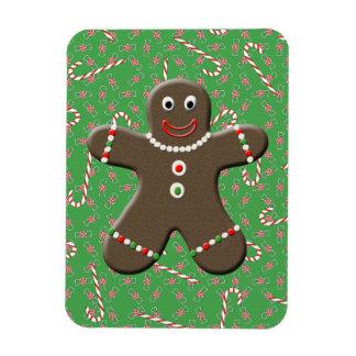 Bastones de caramelo lindos del navidad del imanes de vinilo