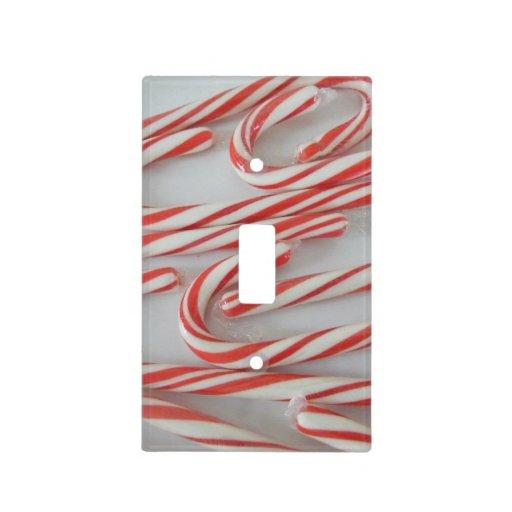 Bastones de caramelo placas para interruptor