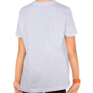 Bastones de caramelo que colorean la camisa