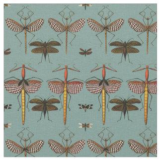 Bastones, Katydids y libélulas Telas