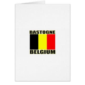 Bastongne, Belgium Card