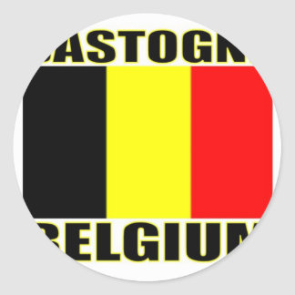 Bastongne, Belgium Classic Round Sticker