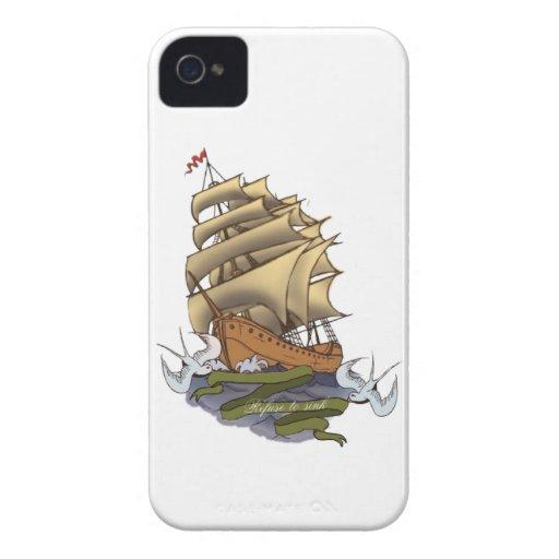 Basura a hundirse Case-Mate iPhone 4 protectores