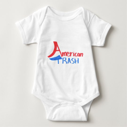 Basura americana body para bebé