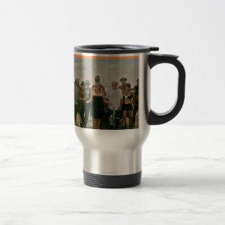 Basura ardiente 2014 del remolque del hombre taza de viaje