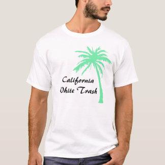 Basura blanca de California Playera