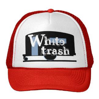 Basura blanca de consumición del casquillo del rem gorras de camionero