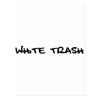 Basura blanca postales