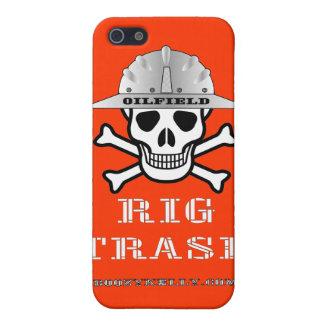 Basura del aparejo del campo petrolífero, caso del iPhone 5 cobertura