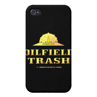 Basura del campo petrolífero, caso del iPhone, reg iPhone 4 Carcasas