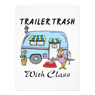 basura del parque de caravanas con la clase anuncios personalizados