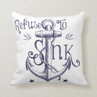 Basura para hundir la almohada de tiro cojín decorativo