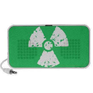 Basura tóxica verde de Kelly Laptop Altavoces
