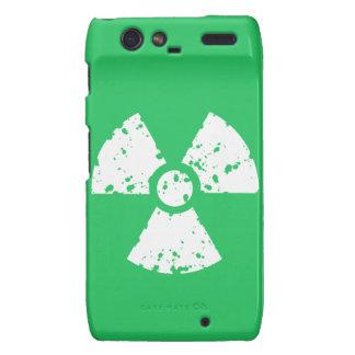 Basura tóxica verde de Kelly Droid RAZR Carcasa