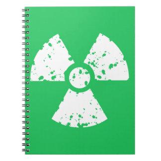 Basura tóxica verde de Kelly Libros De Apuntes
