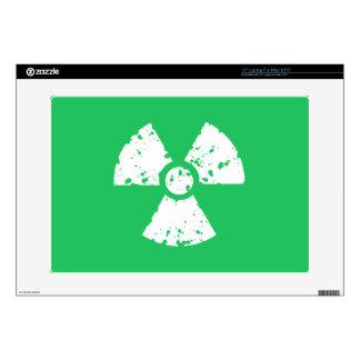 Basura tóxica verde de Kelly Calcomanías Para 38,1cm Portátiles