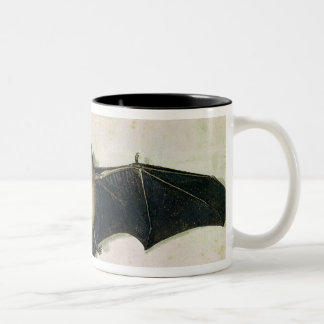 Bat, 1522 Two-Tone coffee mug
