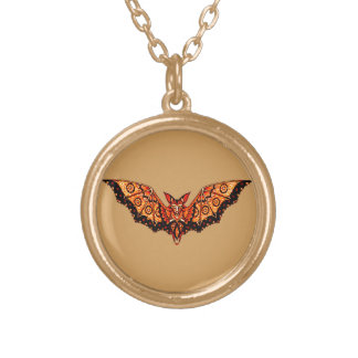 Bat 1 gold plated necklace