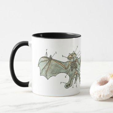 Halloween Themed Bat Anatomy Mug