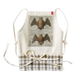Bat Anatomy Zazzle HEART Apron