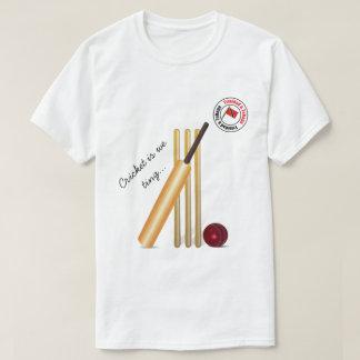 Bat And Ball Trinidad And Tobago Cricket T-Shirt