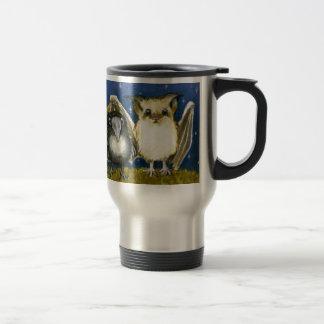 Bat and raven 15 oz stainless steel travel mug