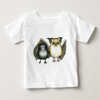 bat and raven baby T-Shirt