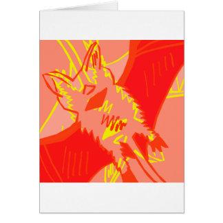 Bat Attack Greeting Cards