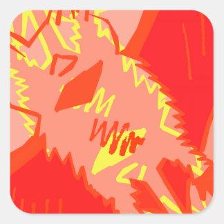 Bat Attack Sticker