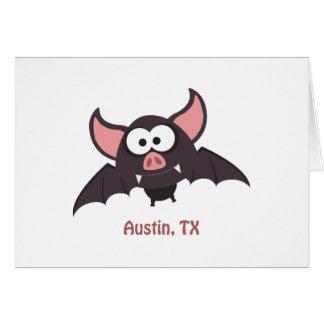 Bat - Austin, Texas Card