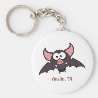 Bat - Austin, Texas Keychain