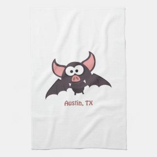 Bat - Austin, Texas Towel