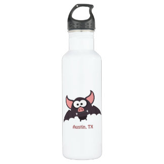 Bat - Austin, Texas Water Bottle