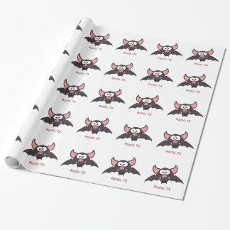 Bat - Austin, Texas Wrapping Paper