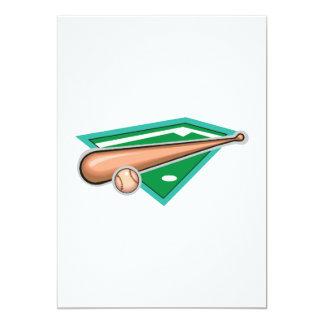 Bat & Ball Card
