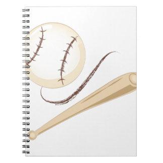 Bat & Ball Notebook