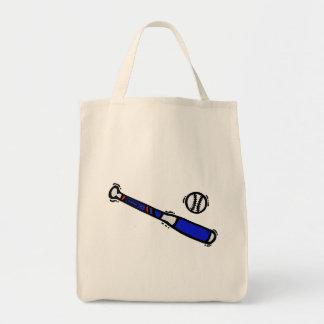 bat & ball tote bag