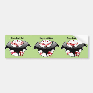 Bat...Baseball...Baseball Bat Bumper Sticker