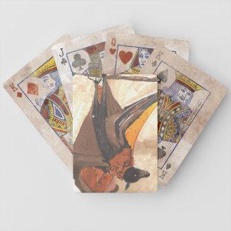 Bat Bicycle Playing Cards